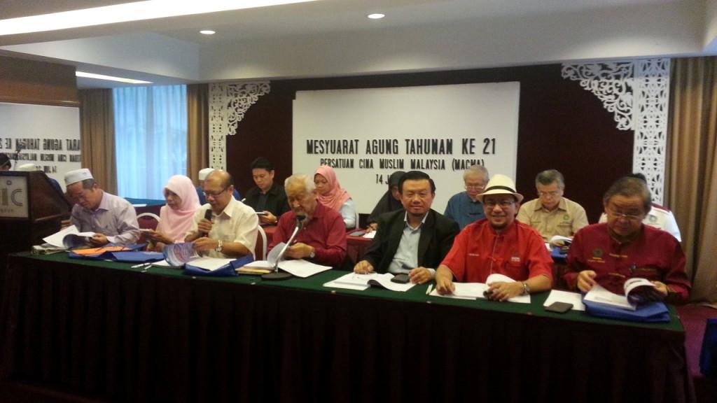 Perjalanan mesyuarat agung tahunan MACMA Malaysia ke - 21
