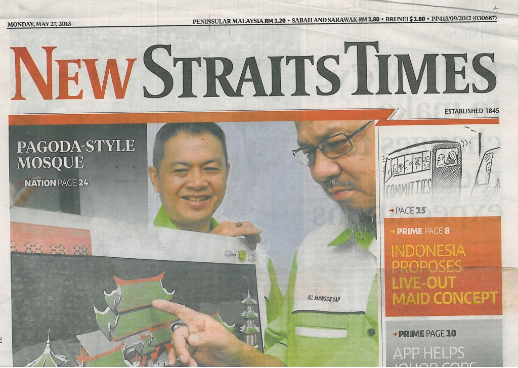 NST, 27 May 2013